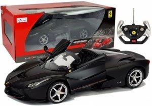 Auto R/C Ferrari Aperta Rastar 1:14 Czarne na Pilota