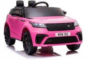 Auto na Akumulator Range Rover Różowy Lakier