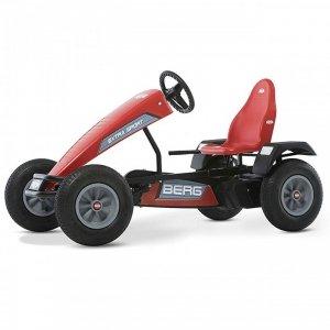 BERG Gokart na pedały Extra Sport Czerwony BFR Pompowane koła od 5 lat do 100 kg