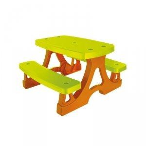 Stolik Dla Dziecka z Ławkami Piknikowy Ogrodowy Mochtoys
