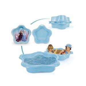 Duża Piaskownica zamykana dla dzieci Frozen II Kraina lodu Muszelka