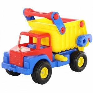 Wader QT Ogromna ciężarówka wywrotka samochód 74cm Ciche Koła