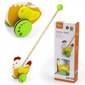 Viga Toys Drewniany Pchacz Edukacyjny Kurka