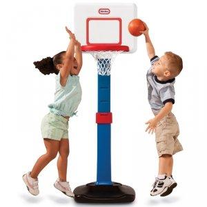 Little Tikes Koszykówka składana dla maluchów Kosz Square 76 - 121 cm