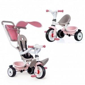 SMOBY Rowerek Trójkołowy Baby Balade plus Różowy