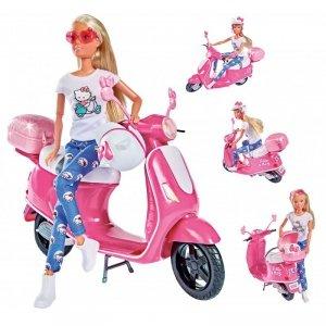SIMBA Lalka Steffi na Skuterze Hello Kitty