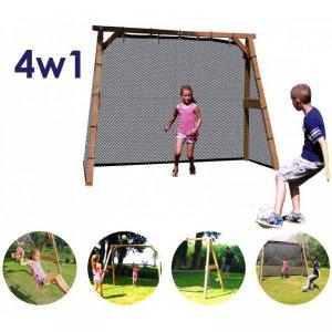 AXI Zestaw Sportowy 4w1 Drewniany