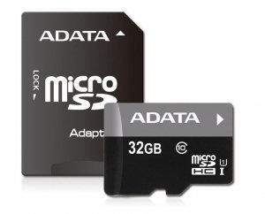 ADATA Premier UHS-I 32 GB, SDHC, Flash memory class 10, SD adapter