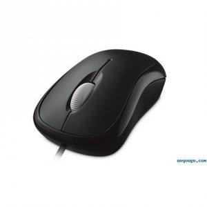 Microsoft 4YH-00007 Basic Optical Mouse for Business 1.83 m, Black, USB