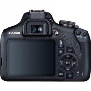 Canon EOS 2000D 18-55 II EU26 SLR Camera Kit, Megapixel 24.1 MP, Image stabilizer, ISO 12800, Display diagonal 3.0 , Wi-Fi, Vid