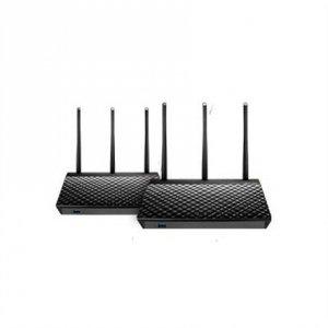 Asus Home Wi-Fi Mesh System RT-AC67U (2 Pack) 802.11ac, 600+1300 Mbit/s, 10/100/1000 Mbit/s, Ethernet LAN (RJ-45) ports 4, Mesh