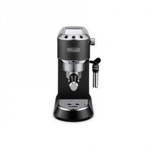 Delonghi Dedica Pump Espresso EC685.BK Pump pressure 15 bar, Built-in milk frother, Semi-automatic, 1300 W, Black/Stainless Ste