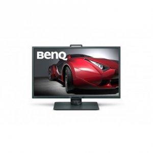 Benq 4K Designer Monitor PD3200U 32 , IPS, 4K UHD, 3840 x 2160 pixels, 16:9, 4 ms, 350 cd/m², Grey, HDMI, DP, miniDP, USB, SD/M