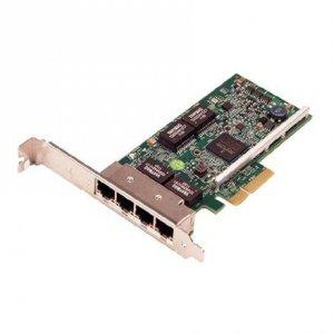 Dell Broadcom 5719 Quad Port 1 Gigabit Network Interface Card Full Height, Cuskit PCI Express