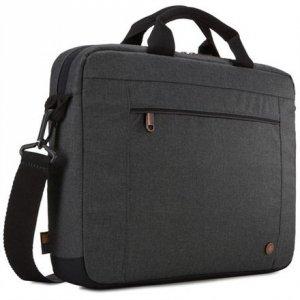 Case Logic Era Attaché Fits up to size 14 , Black, Shoulder strap, Messenger - Briefcase
