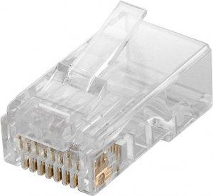 Goobay 93828 RJ45 plug, CAT 6 UTP unshielded