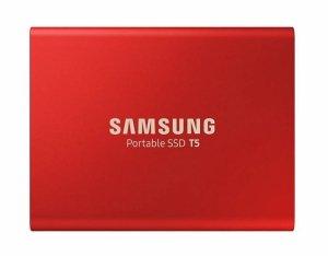 Samsung T5 500 GB, USB 3.1, Red, Portable SSD