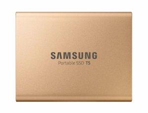 Samsung T5 500 GB, USB 3.1, Gold, Portable SSD