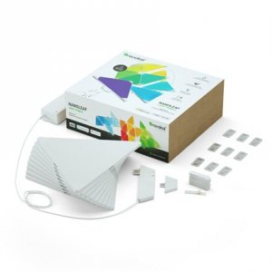 Nanoleaf Light Panels Rhythm Smarter Kit, 9 Panels