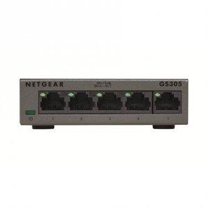 Netgear Switch GS305-300PES Unmanaged, Desktop, 1 Gbps (RJ-45) ports quantity 5, Power supply type Single