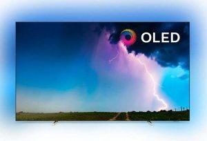 Philips 55OLED754/12 55 (139 cm), Smart TV, 4K UHD OLED, 3840 x 2160 pixels, Wi-Fi, DVB-T/T2/T2-HD/C/S/S2, Black