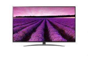 LG 49SM8200PLA 49 (123 cm), Smart TV, 4K Ultra HD Nanocell TV, 3840 x 2160, Wi-Fi, DVB-T/T2/C/S/S2, Silver