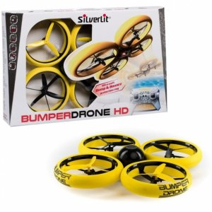 SilverLit BUMPER DRONE HD ( With 720P camera, 2 Colors)