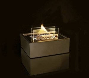 Tenderflame Burner 90 Diameter 16 cm, Height 7 cm, 500 ml, 5 hours, Black