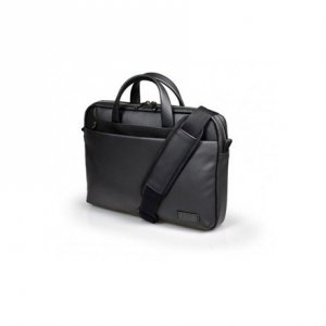 Port Designs Zurich Fits up to size 15.6 , Black, Shoulder strap, Messenger - Briefcase