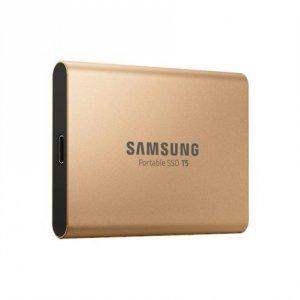 Samsung Portable SSD T5 1000 GB, USB 3.1 Gen 2, Gold