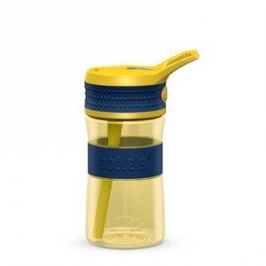 Boddels EEN Drinking bottle Bottle, Night blue/Yellow, Capacity 0.4 L, Diameter 7.5 cm, Bisphenol A (BPA) free