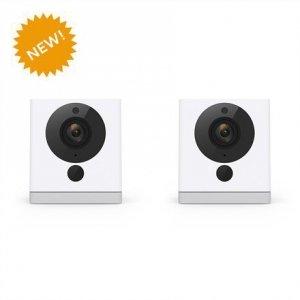 ISmartAlarm Smart IP Cameras Spot+ Pack of 2 (EU+UK Plugs) 2 MP, Micro SD, Max.32GB