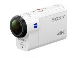 Sony FDR-X3000R Body + Live-View Remote Kit + Fingergrip NP-BX1, Wi-Fi,