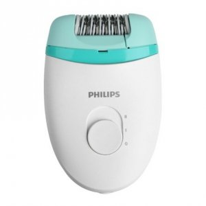 Philips Epilator Satinelle Essential BRE245/00 Corded, Number of speeds 2, White/Green