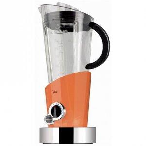 Bugatti Vela Evolution Blender 12-EVELACO Orange, 500 W, Tritan PTC BPA free jar, 1.5 L, Ice crushing, Type Stand blender