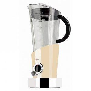 Bugatti Vela Evolution Blender 12-EVELAC Cream, 500 W, Tritan PTC BPA free jar, 1.5 L, Ice crushing, Type Stand blender