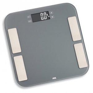 ADE Scale Malou BA1807 Body analyzer, Maximum weight (capacity) 180 kg, Accuracy 100 g, Body Mass Index (BMI) measuring, Grey