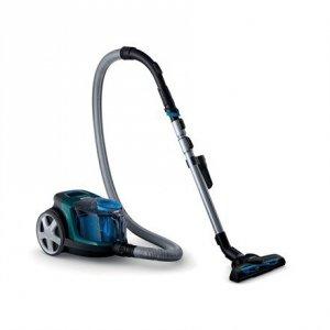 Philips Vacuum cleaner PowerPro Compact FC9334/09 900 W, Bagless, 1.5 L, 76 dB, Black/Blue