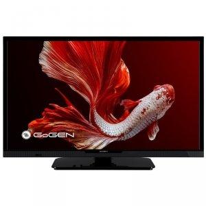 GoGen LED TV GOGTVH24P452T 24 (60 cm), HD Ready, 1366 × 768, DVB-C/T/T2, Black