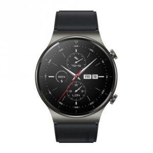 Huawei GT 2 Pro Smart watch, AMOLED, Touchscreen, Heart rate monitor, Activity monitoring 24/7, Waterproof, Bluetooth, Night Bla