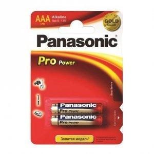 Panasonic Pro Power AAA/LR03, Alkaline, 2 pc(s)