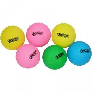 Piłeczki do tenisa stołowego kolorowe 6szt Best Sporting