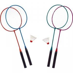 Zestaw do badmintona metalowy + lotka Best Sporting