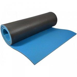 Mata do Jogi Dwuwarstwowa 180x61x0,8 cm Niebieska Eb Fit