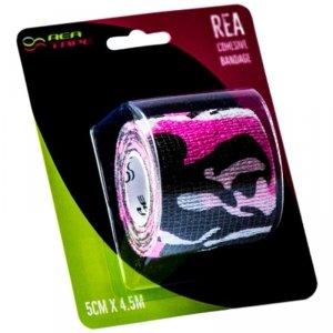 Rea Tape Bandaż Elastyczny 5x4,5 Moro Różowy