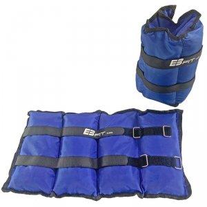 Obciążenie na przeguby niebieskie 12kg (2X6kg) Eb Fit
