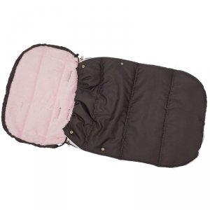 Śpiworek Zimowy Dla Dzieci 90X45Cm Polar Róż / Antracyt