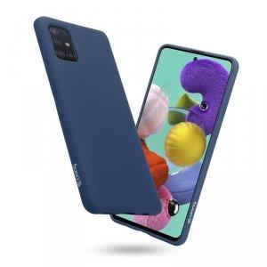 Crong Color Cover - Etui Samsung Galaxy A51 (niebieski)