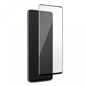 PURO Frame Tempered Glass - Szkło ochronne hartowane na ekran Samsung Galaxy A51 (czarna ramka)