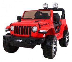 Pojazd Jeep Wrangler Rubicon Czerwony